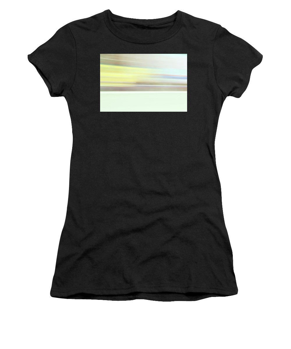 Women's T-Shirt (Athletic Fit) featuring the photograph Interstate by Kevin Cote