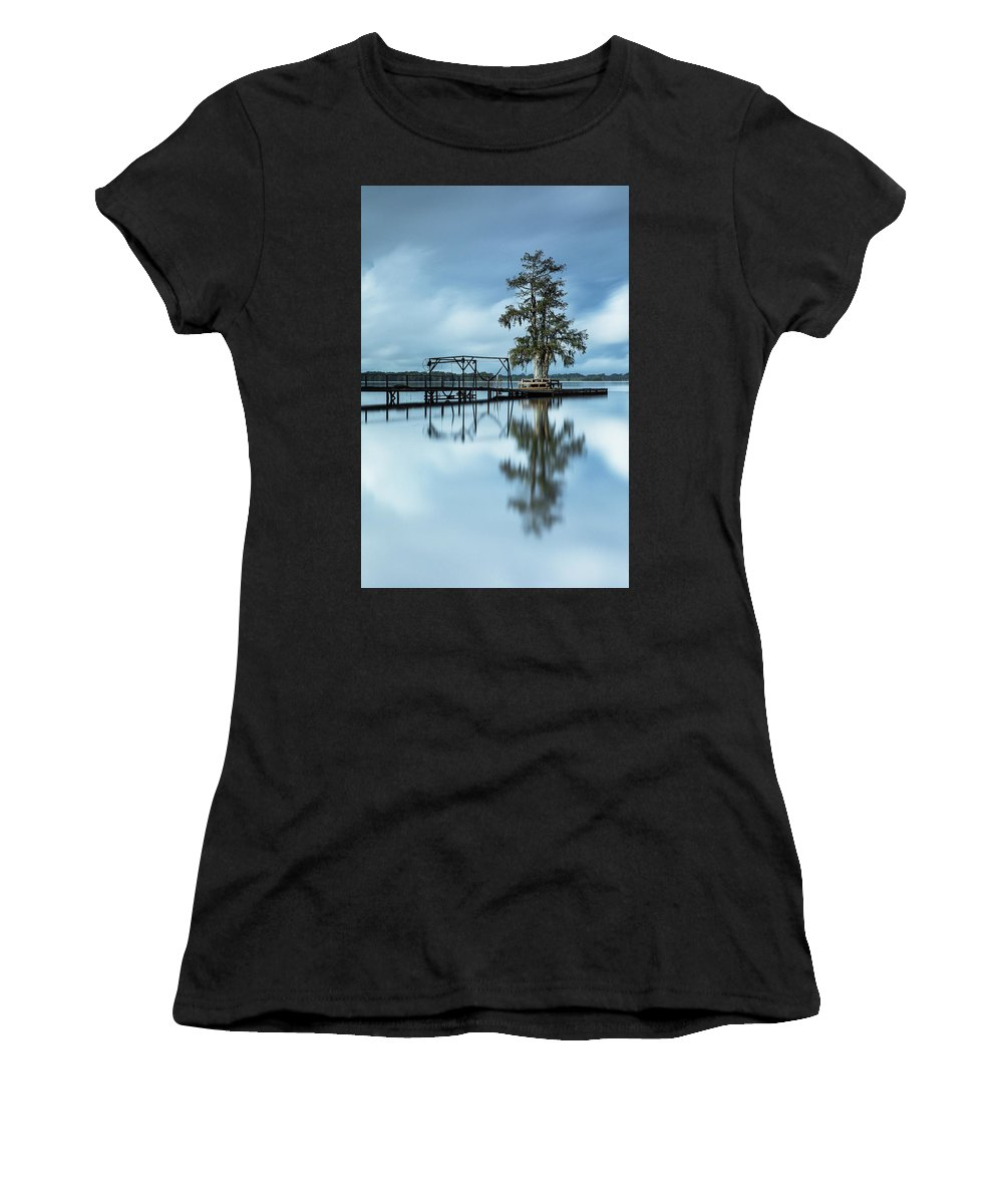 Louisiana Women's T-Shirt (Athletic Fit) featuring the photograph Introspection by Noel Marcantel