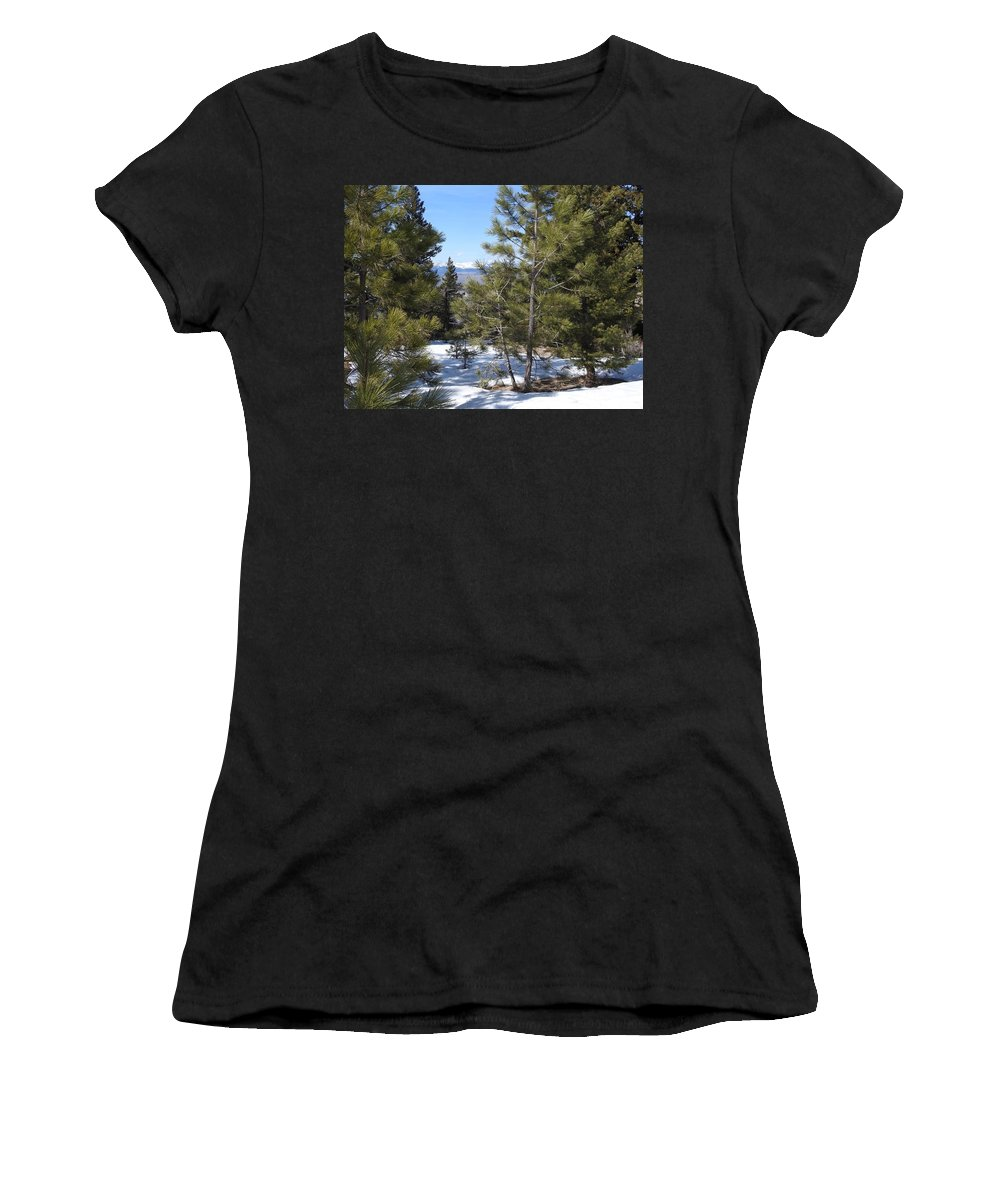 Women's T-Shirt (Athletic Fit) featuring the photograph Intuitive Majesty by Dan Hassett