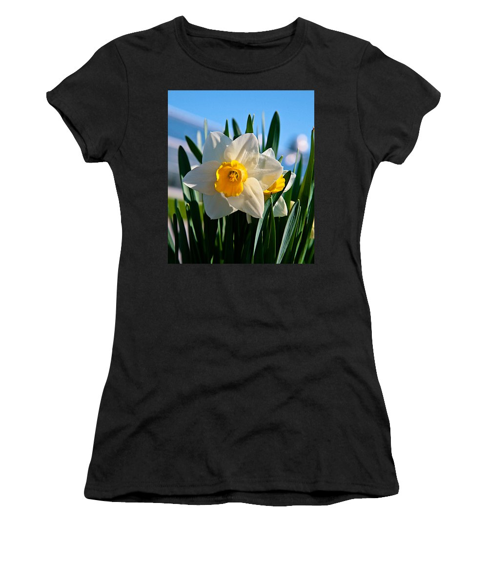 Plant Women's T-Shirt (Athletic Fit) featuring the photograph Its Spring by Robert Pearson
