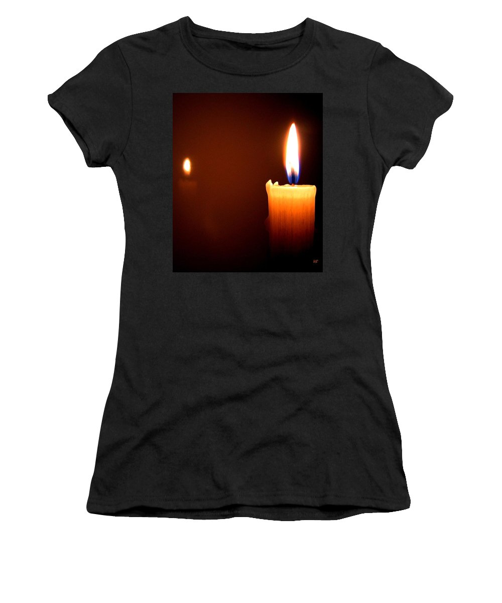 Reflection Women's T-Shirt (Athletic Fit) featuring the photograph Joie De Vivre by Will Borden