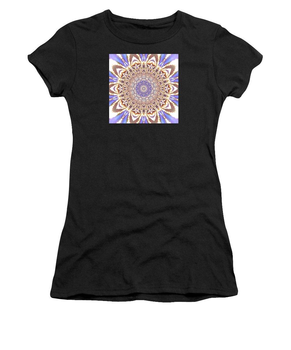 Light Women's T-Shirt featuring the digital art Jyoti Ahau 14 by Robert Thalmeier