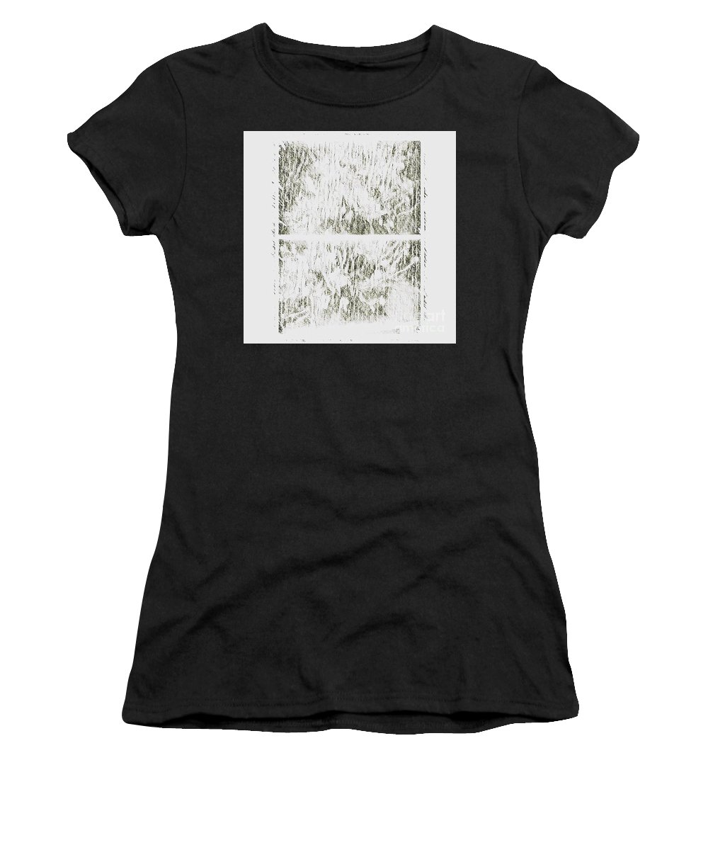 Abstract Women's T-Shirt featuring the photograph Keepsake by Alwyn Glasgow