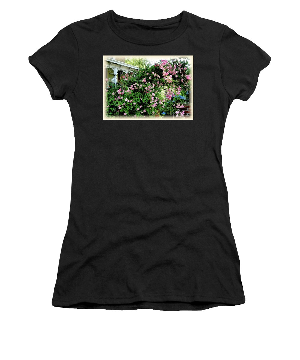 Roses Women's T-Shirt featuring the photograph Labor Of Love by Jane Alexander