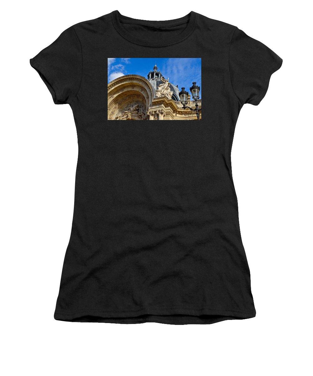 Paris Women's T-Shirt (Athletic Fit) featuring the photograph Le Petit Palais by Bruce Chevillat