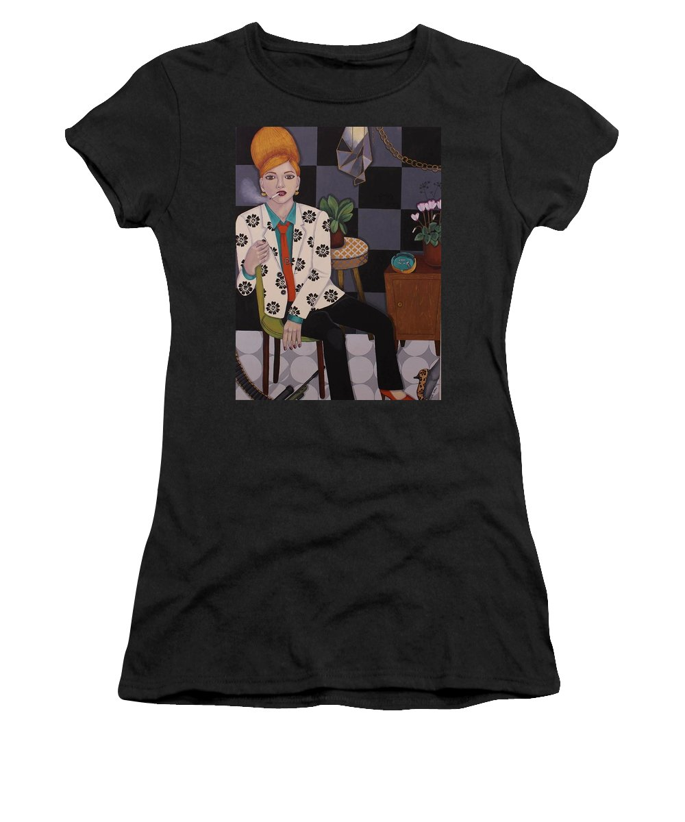 Marijuana Women's T-Shirt featuring the painting Legality by Stephanie Cohen