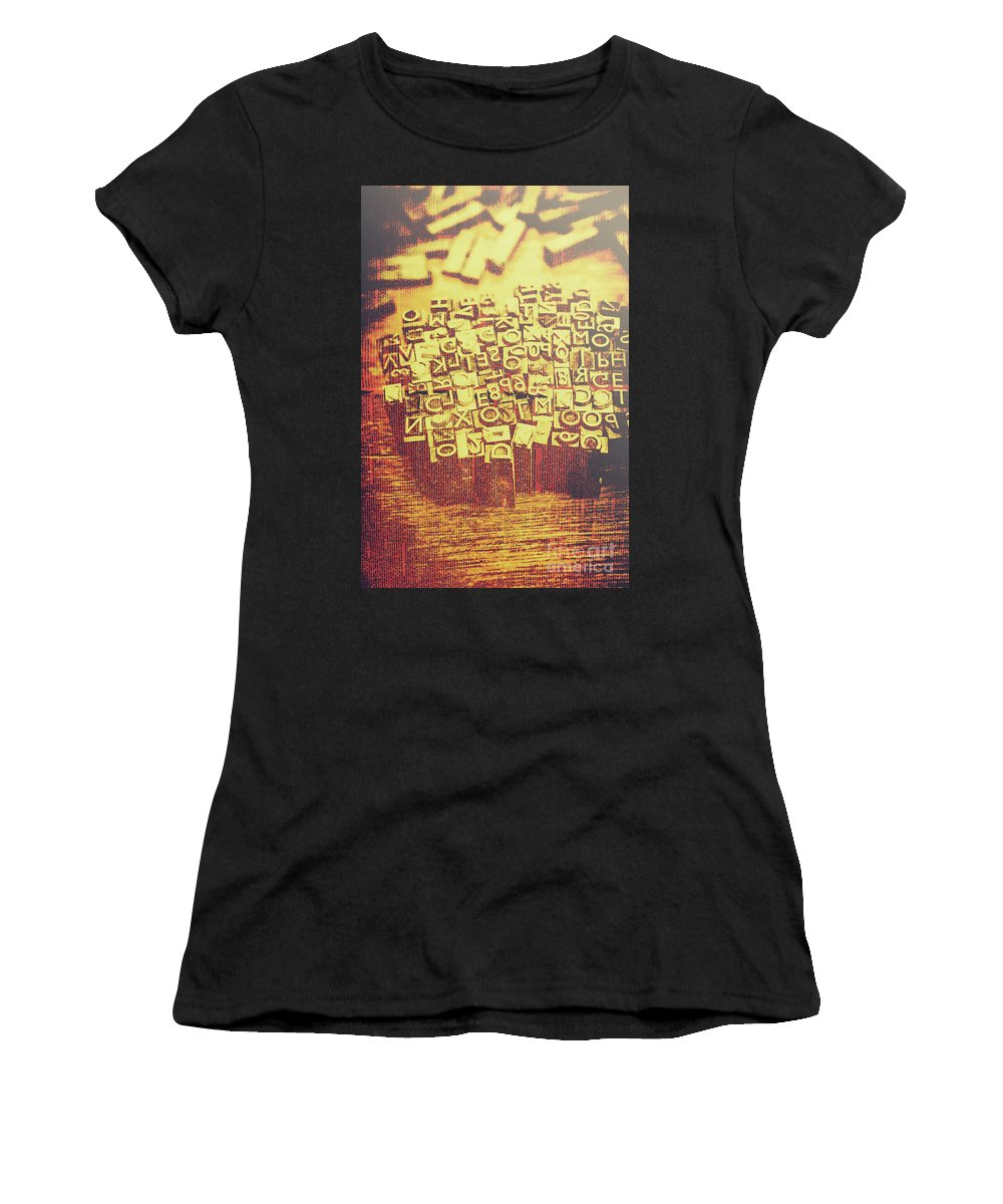 Written Language Photographs Women's T-Shirts