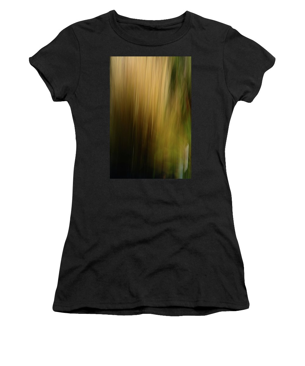 Abstract Women's T-Shirt (Athletic Fit) featuring the photograph Light Series 5 by Bob Sebring