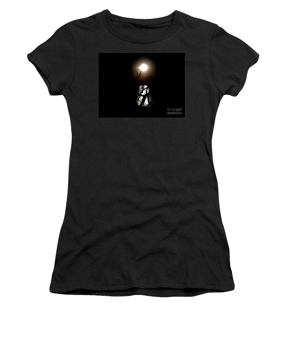 Key Women's T-Shirt featuring the photograph Light Shines Through by Vicki Spindler