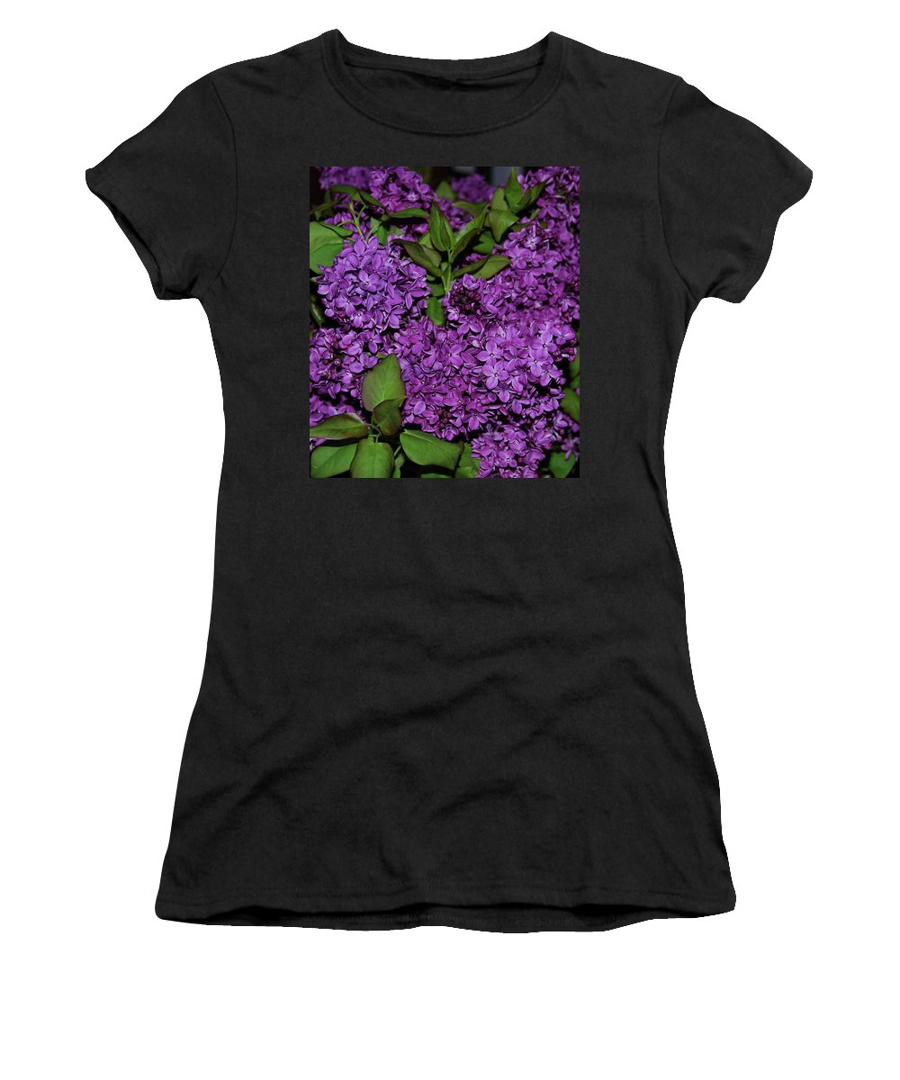 Lilac Women's T-Shirt featuring the photograph Lilac by AJ Harlan