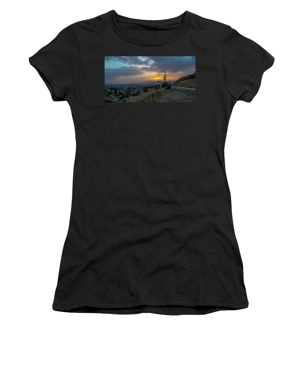Espanha Women's T-Shirt featuring the photograph Lonely Tree by Joao Nuno Dias