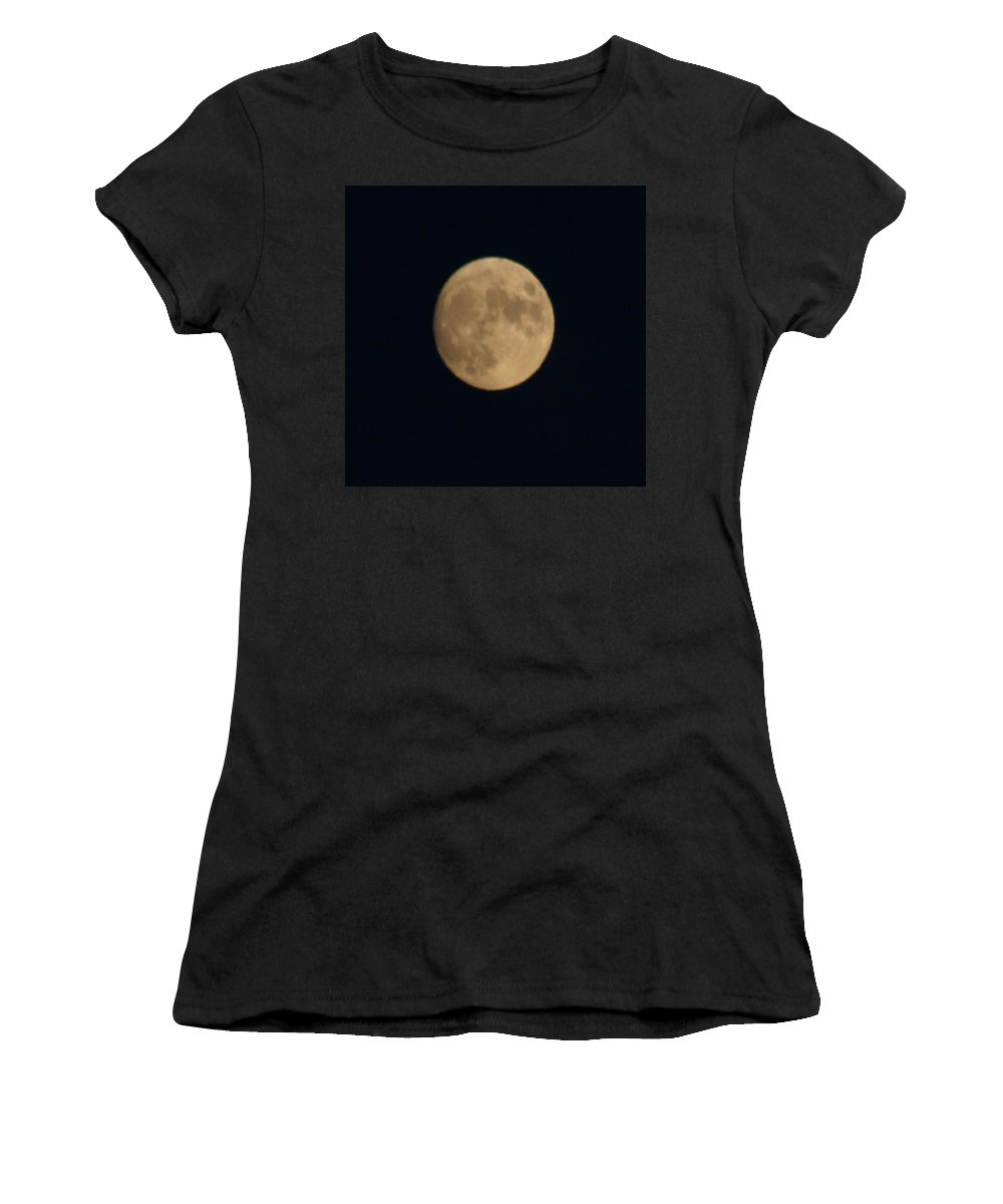 Hot Women's T-Shirt (Athletic Fit) featuring the digital art Longest Flying Balloon Ever by Gary Baird