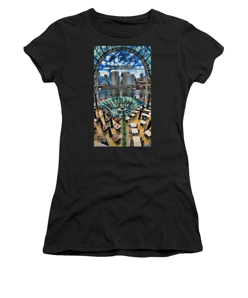 Sydney Women's T-Shirt featuring the photograph Looking Out by Douglas Barnard