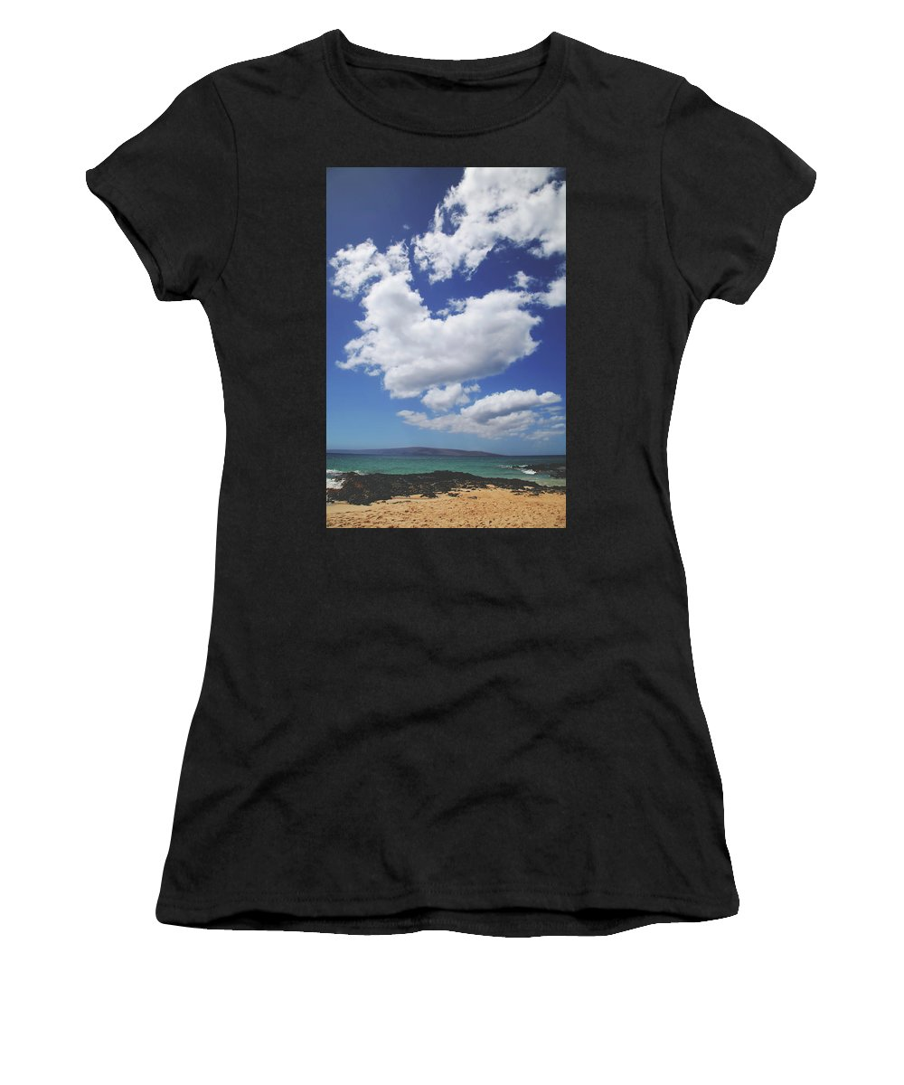 Maui Women's T-Shirt (Athletic Fit) featuring the photograph Love Is In The Air by Laurie Search