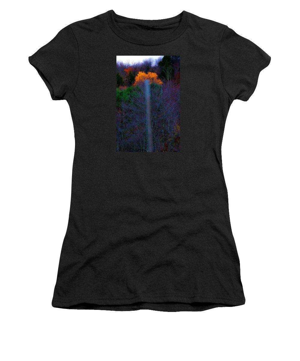 Tree Women's T-Shirt featuring the photograph Lucky Shot by Terepka Dariusz