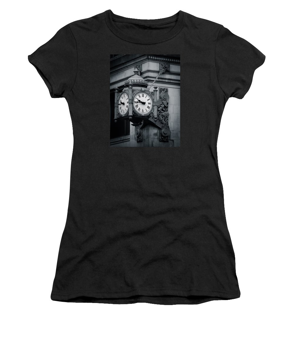 Chicago Women's T-Shirt (Athletic Fit) featuring the photograph Marshall Field's Forever by Rita Anthony
