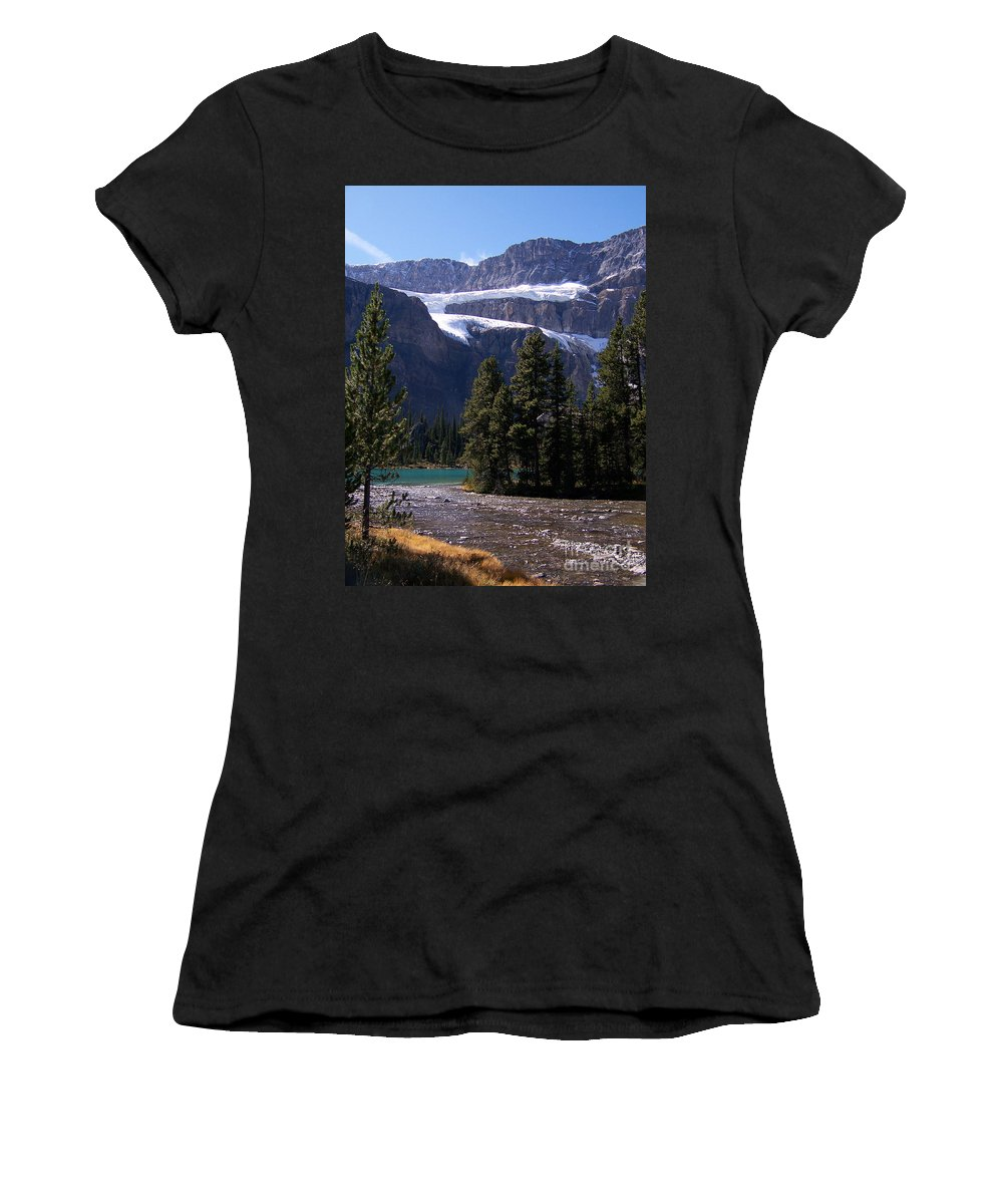 Meltwater Women's T-Shirt (Athletic Fit) featuring the photograph Meltwater by Greg Hammond