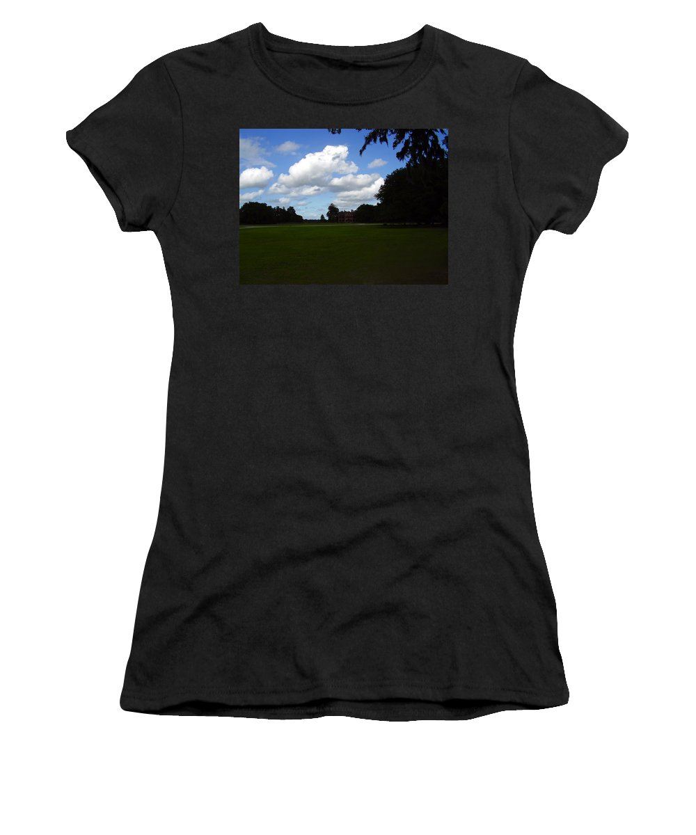 Middleton Place Women's T-Shirt (Athletic Fit) featuring the photograph Middleton Place by Flavia Westerwelle