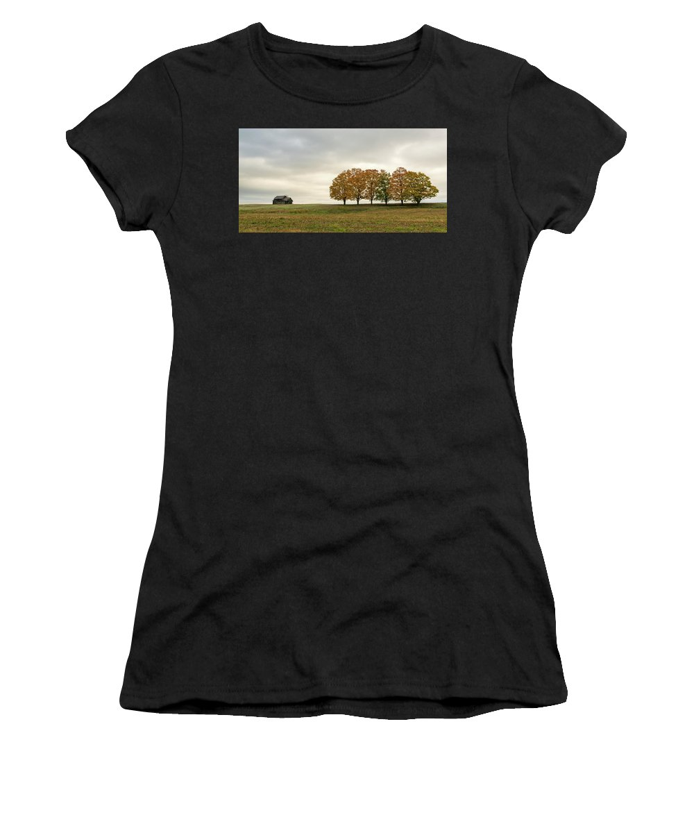 Midwest Women's T-Shirt (Athletic Fit) featuring the photograph Midwest by Steve L'Italien