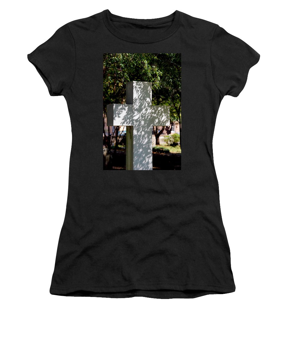 Photography Women's T-Shirt (Athletic Fit) featuring the photograph Miss You So Much by Susanne Van Hulst