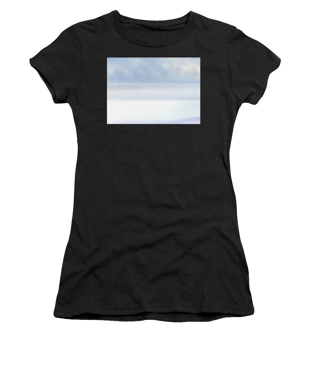 Moana Pearl Women's T-Shirt (Athletic Fit) featuring the painting Moana Pearl 2 by Kevin Smith