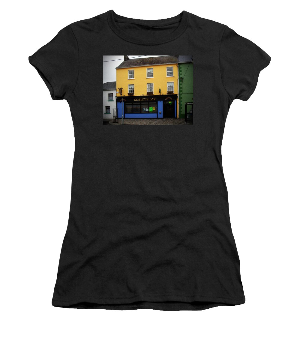 Pub Women's T-Shirt (Athletic Fit) featuring the photograph Molloy by Tim Nyberg