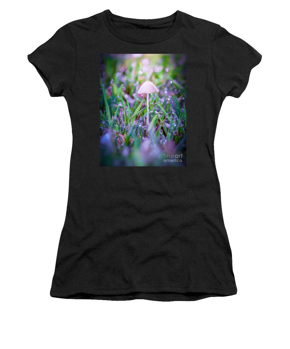 Dew Women's T-Shirt featuring the photograph Morning Dew by Yasar Ugurlu