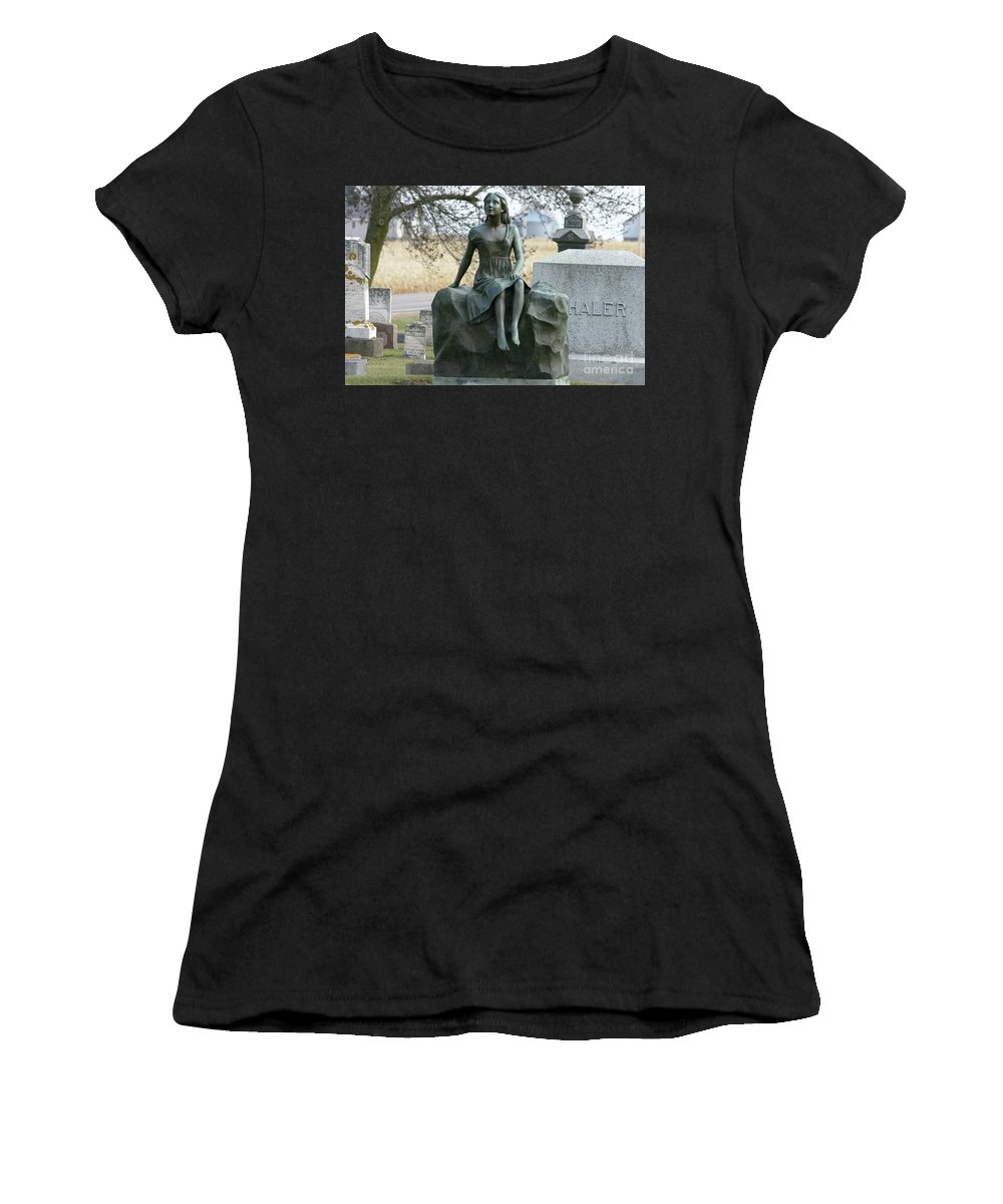 Photography Women's T-Shirt featuring the photograph Morning Of Life by Lana Raffensperger