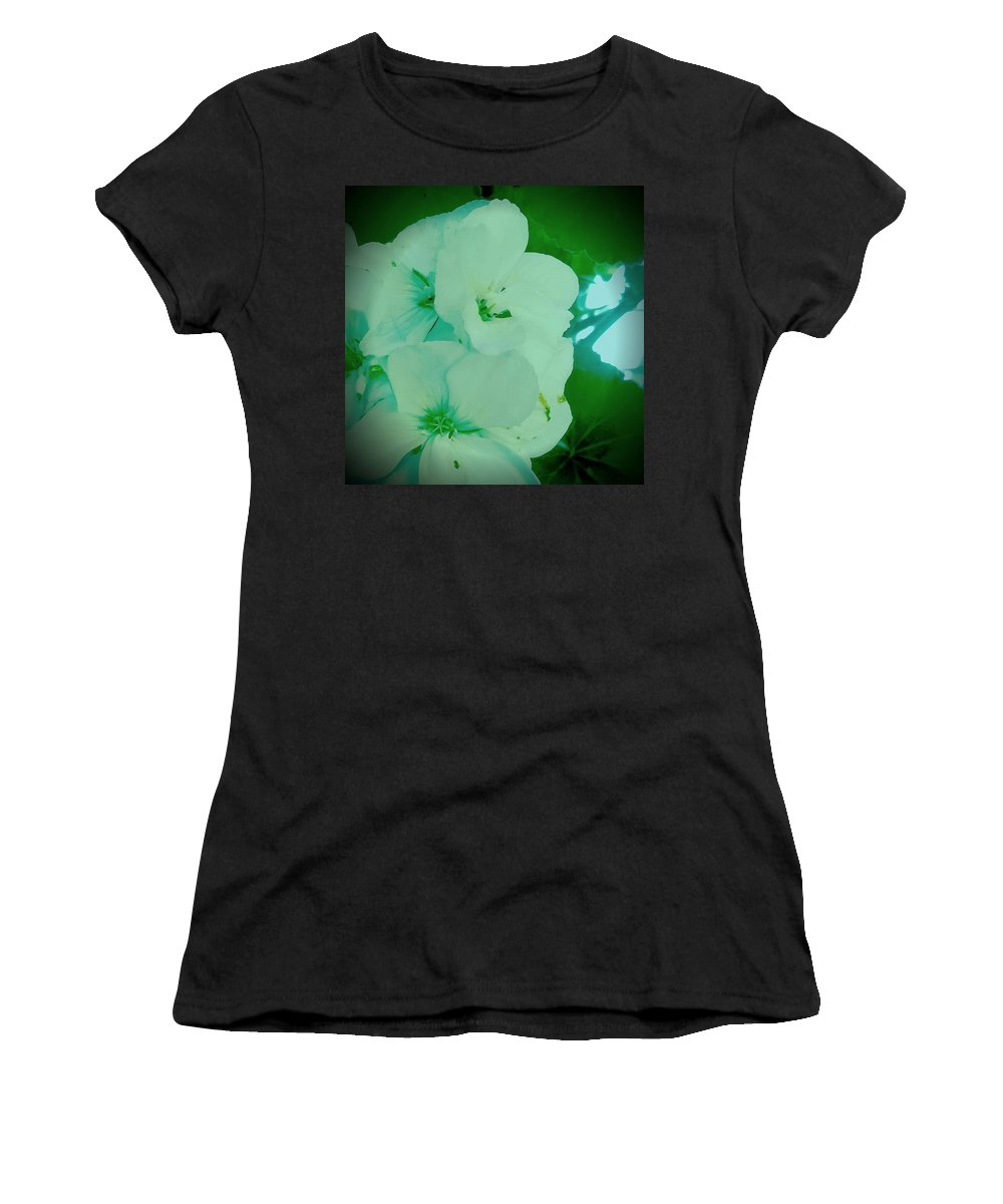 Nature Women's T-Shirt (Athletic Fit) featuring the photograph Morning Stretch by Jacob O'Neill