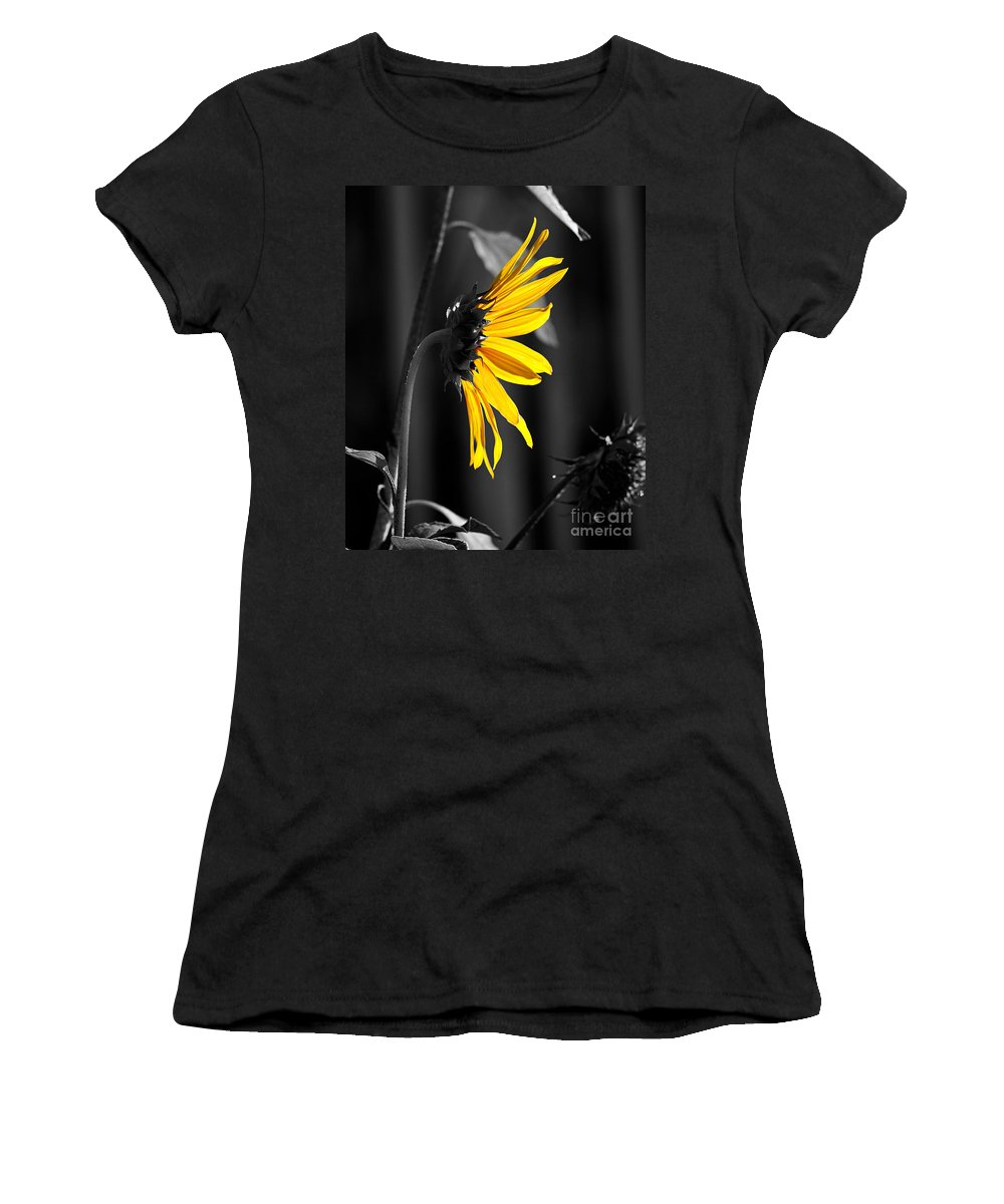 Clay Women's T-Shirt (Athletic Fit) featuring the photograph Morning Sun by Clayton Bruster