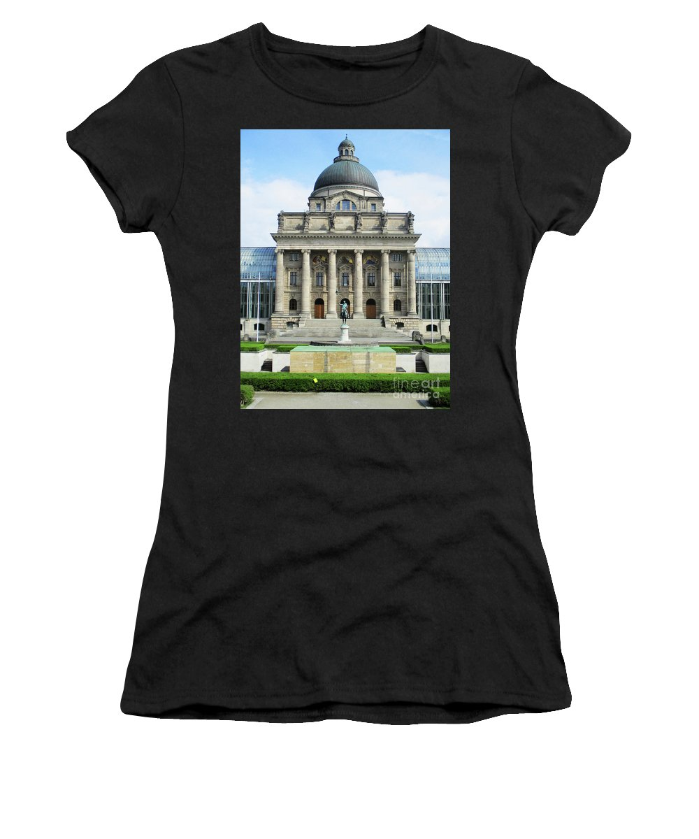 Munich Women's T-Shirt (Athletic Fit) featuring the photograph Munich Detail 12 by Randall Weidner