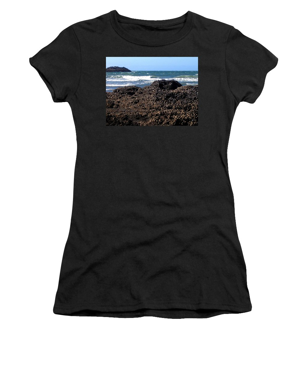 Mussels Women's T-Shirt featuring the photograph Mussels by Will Borden