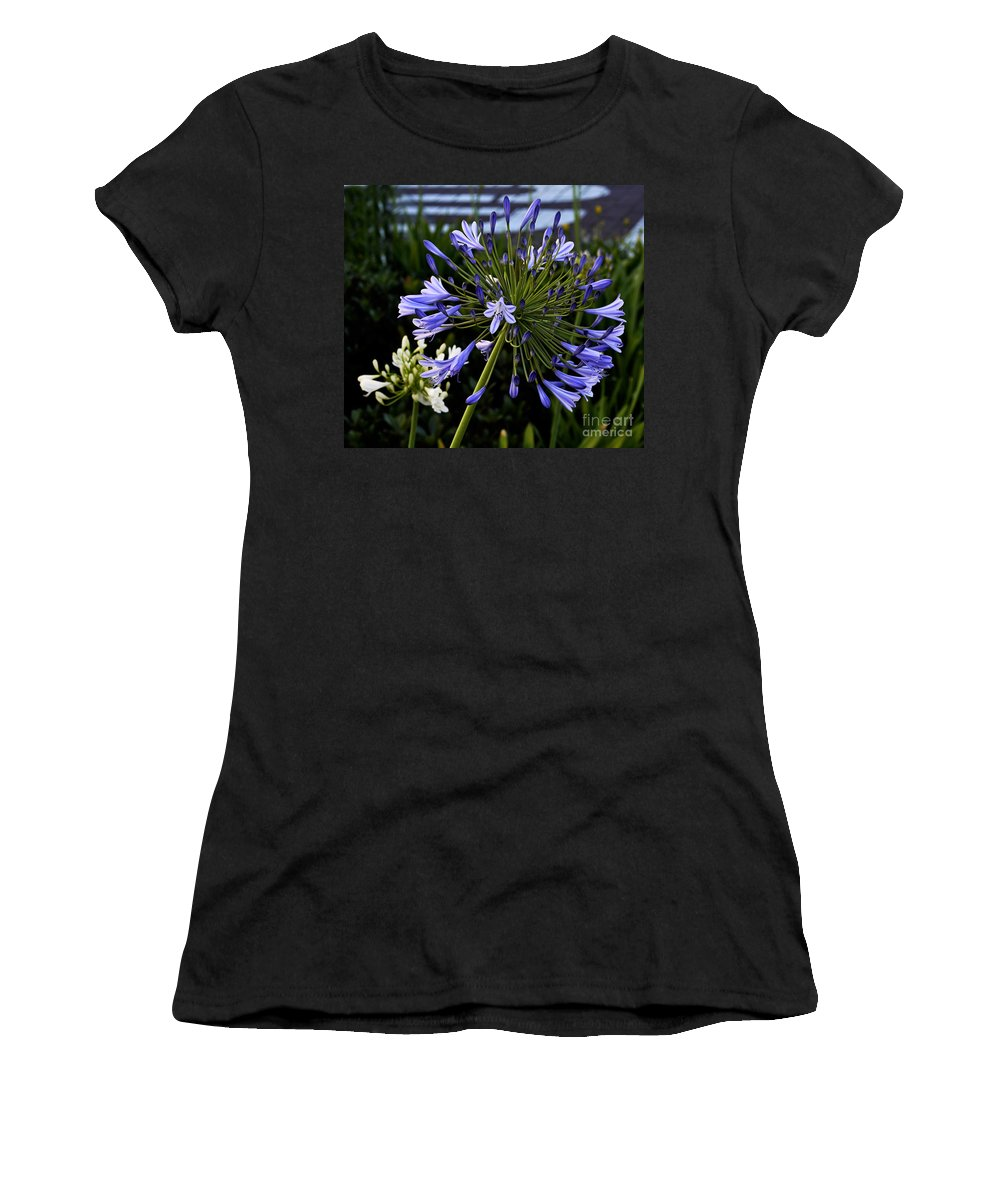 Clay Women's T-Shirt (Athletic Fit) featuring the photograph Naked Lady by Clayton Bruster