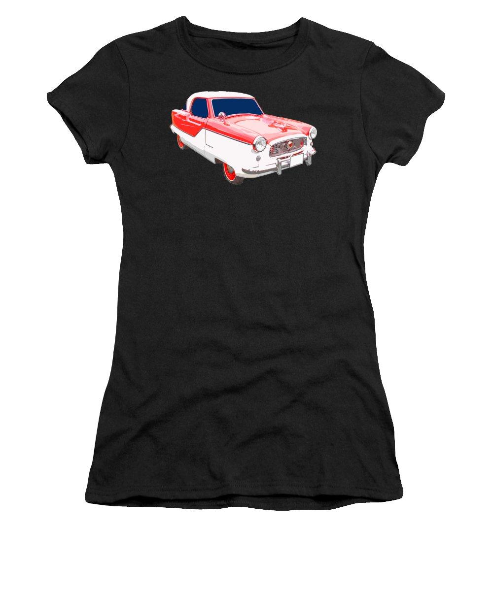 Nash Women's T-Shirt featuring the photograph Nash Metropolitan Tee by Edward Fielding