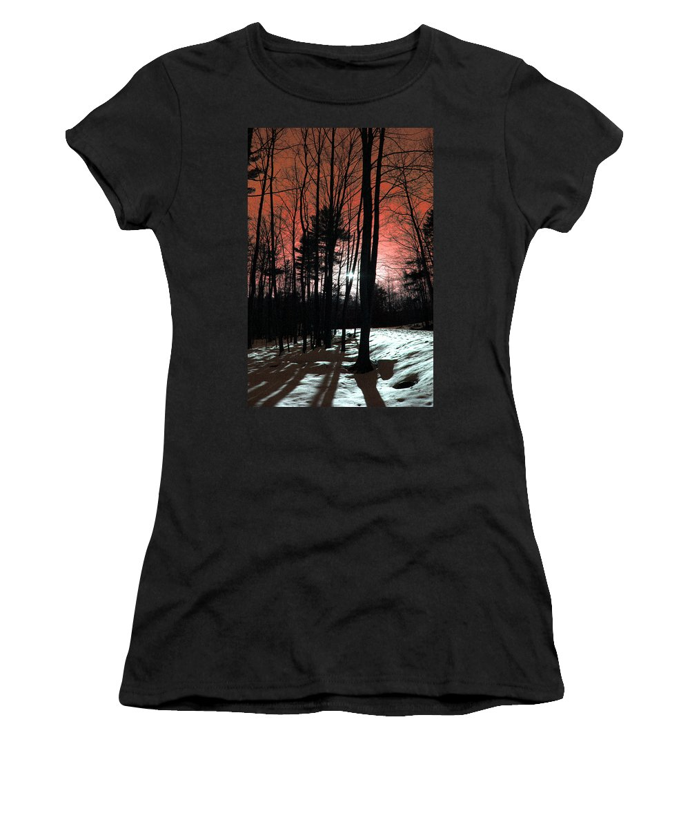 Nature Women's T-Shirt featuring the photograph Nature Of Wood by Mark Ashkenazi