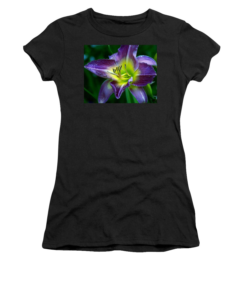 Flowers Women's T-Shirt featuring the photograph Nature's Art by Ben Upham III