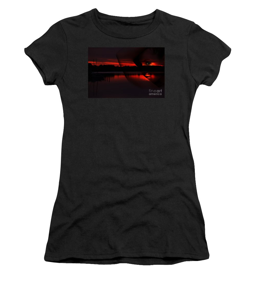 Clay Women's T-Shirt (Athletic Fit) featuring the photograph Nautical Goddess by Clayton Bruster