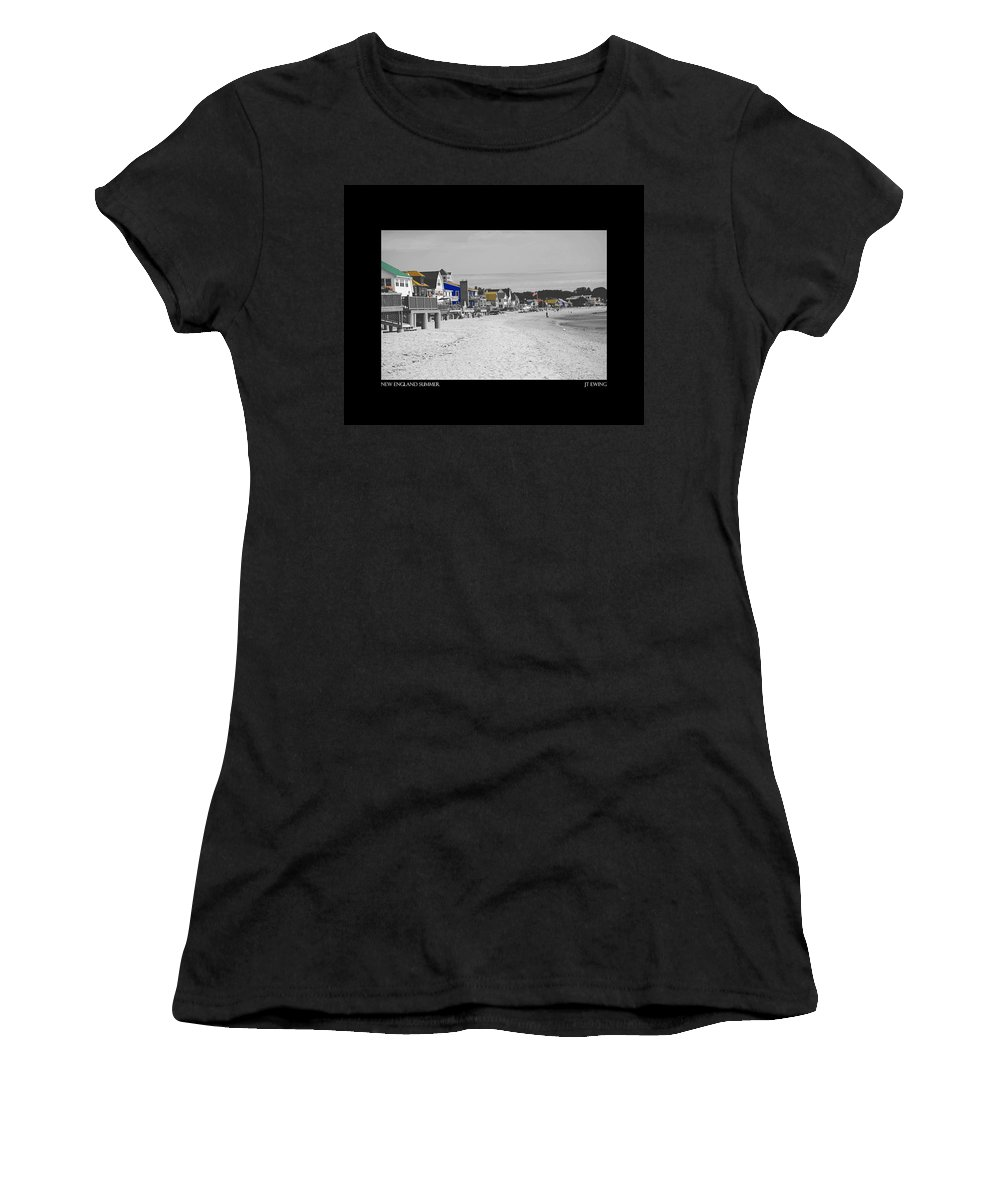 Summer Women's T-Shirt (Athletic Fit) featuring the photograph New England Summer by J Todd