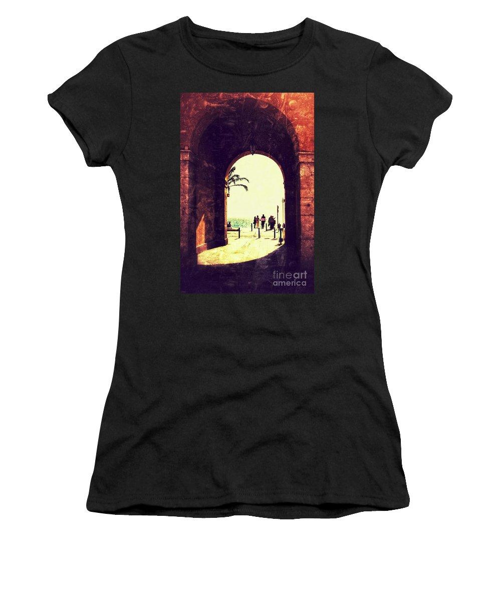 Cote D'azur Women's T-Shirt featuring the photograph Nice by Lasse Ansaharju