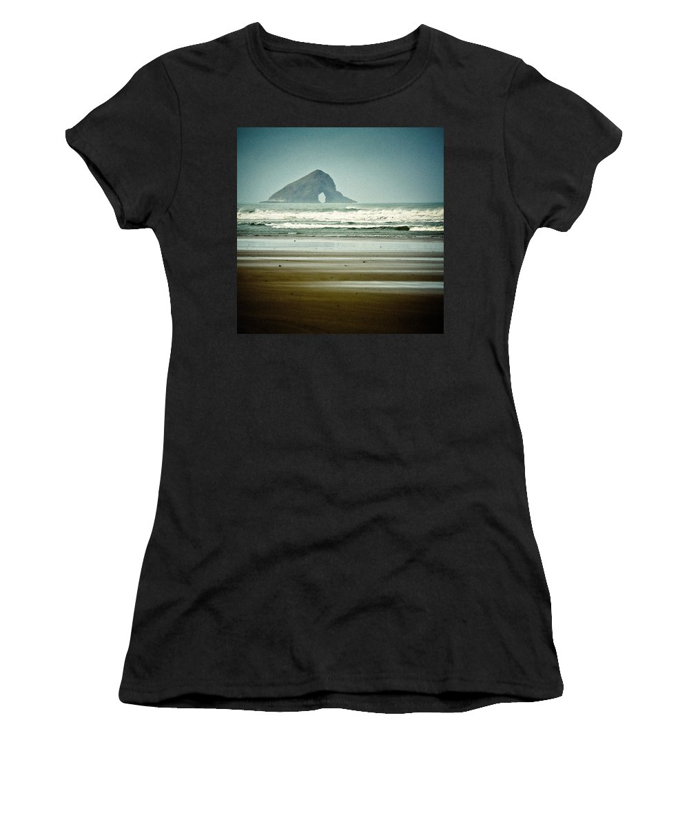 Matapia Island Women's T-Shirt featuring the photograph Matapia Island by Dave Bowman