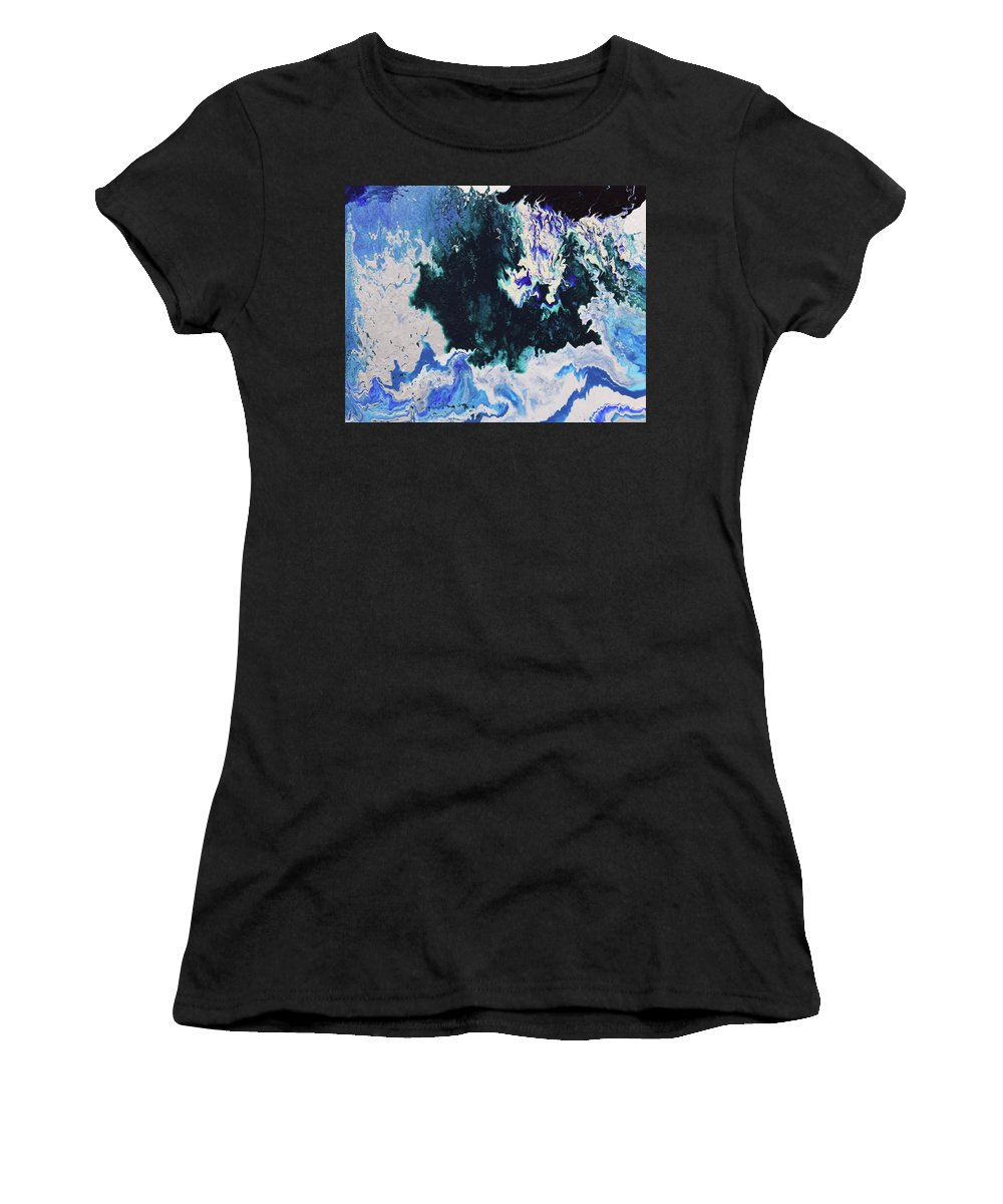 Fusionart Women's T-Shirt (Athletic Fit) featuring the painting North Shore by Ralph White