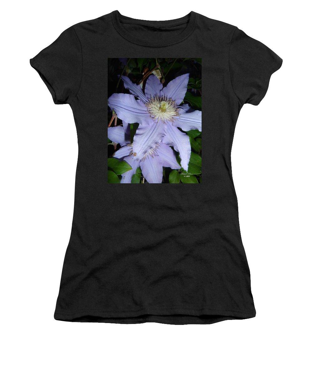 Flower Photograph Women's T-Shirt featuring the photograph Rising Spirit by Michele Penn
