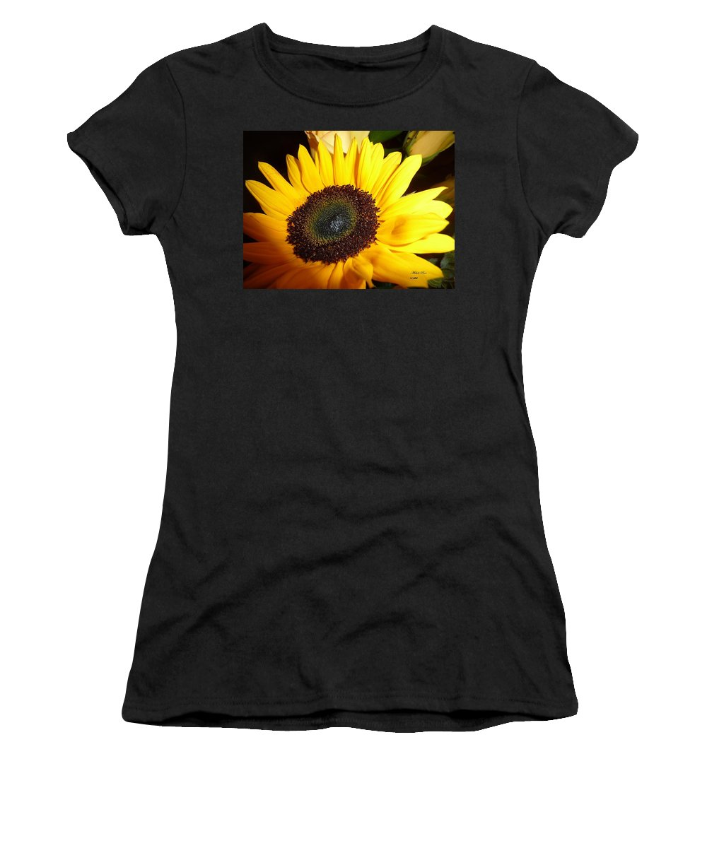 Flower Photograph Women's T-Shirt featuring the photograph Peaceful Vision by Michele Penn