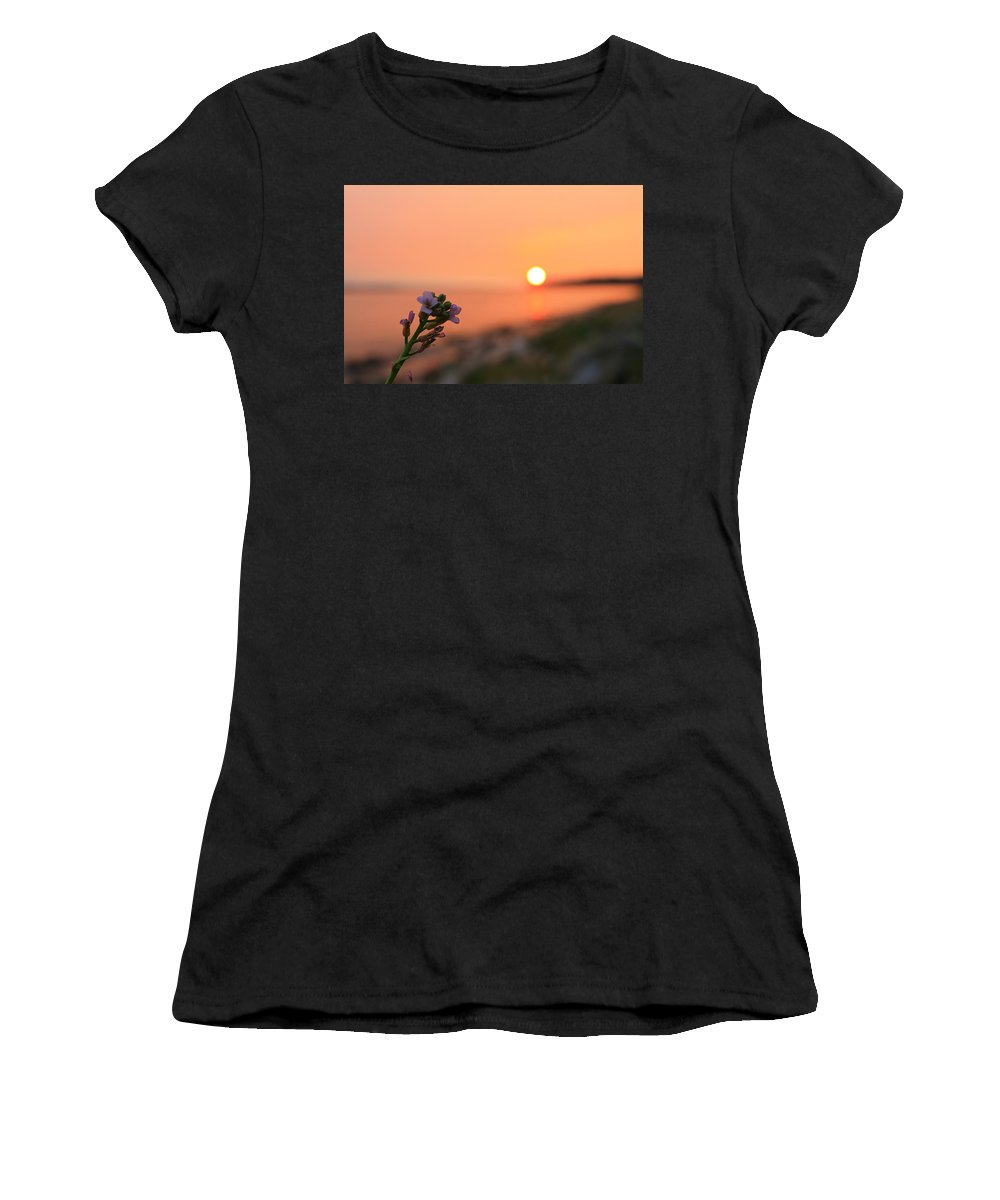 Landscape Women's T-Shirt (Athletic Fit) featuring the photograph Ocean Fever by Margre Flikweert