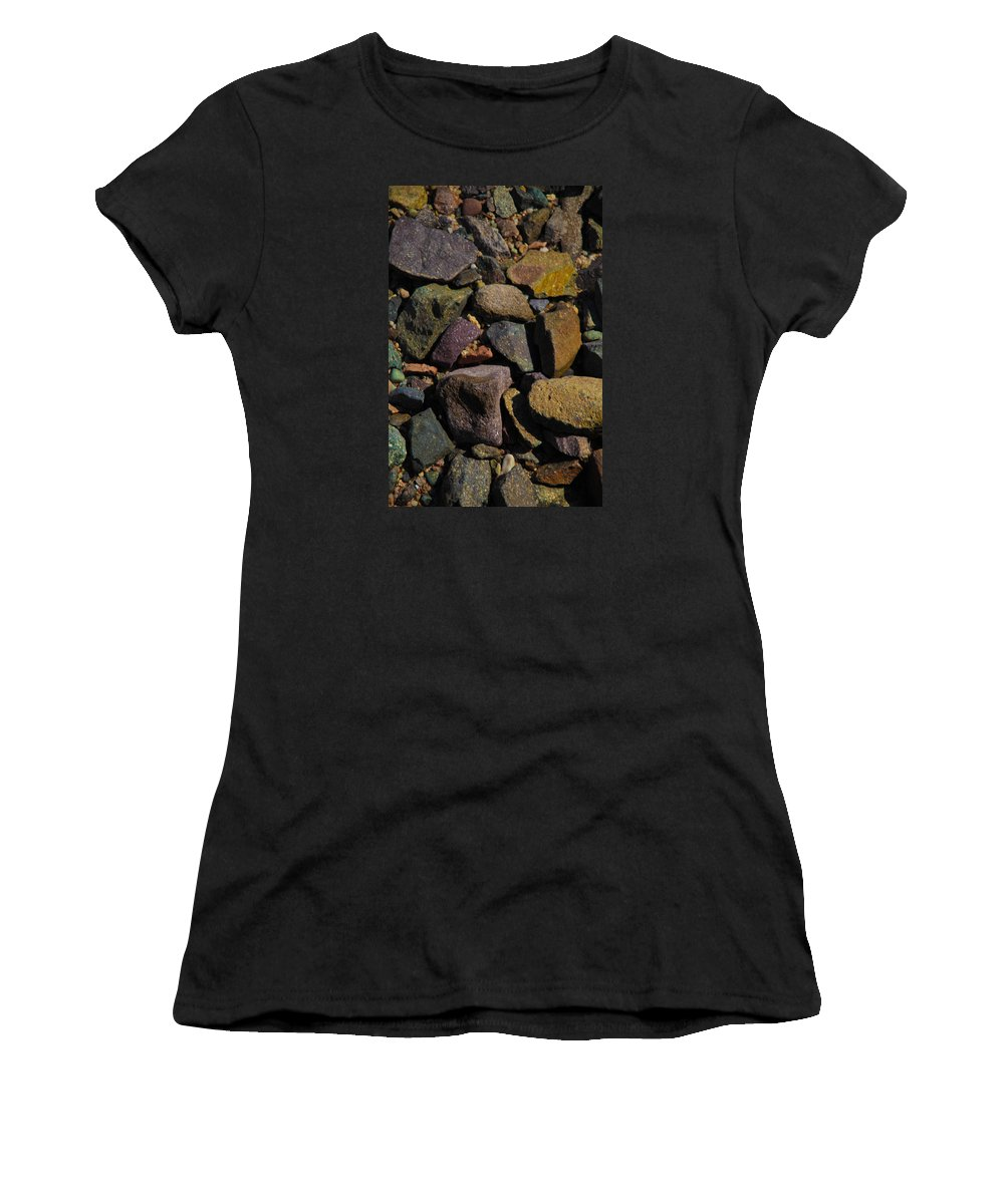 Al-ahyaa Women's T-Shirt (Athletic Fit) featuring the photograph Of Time by Jez C Self