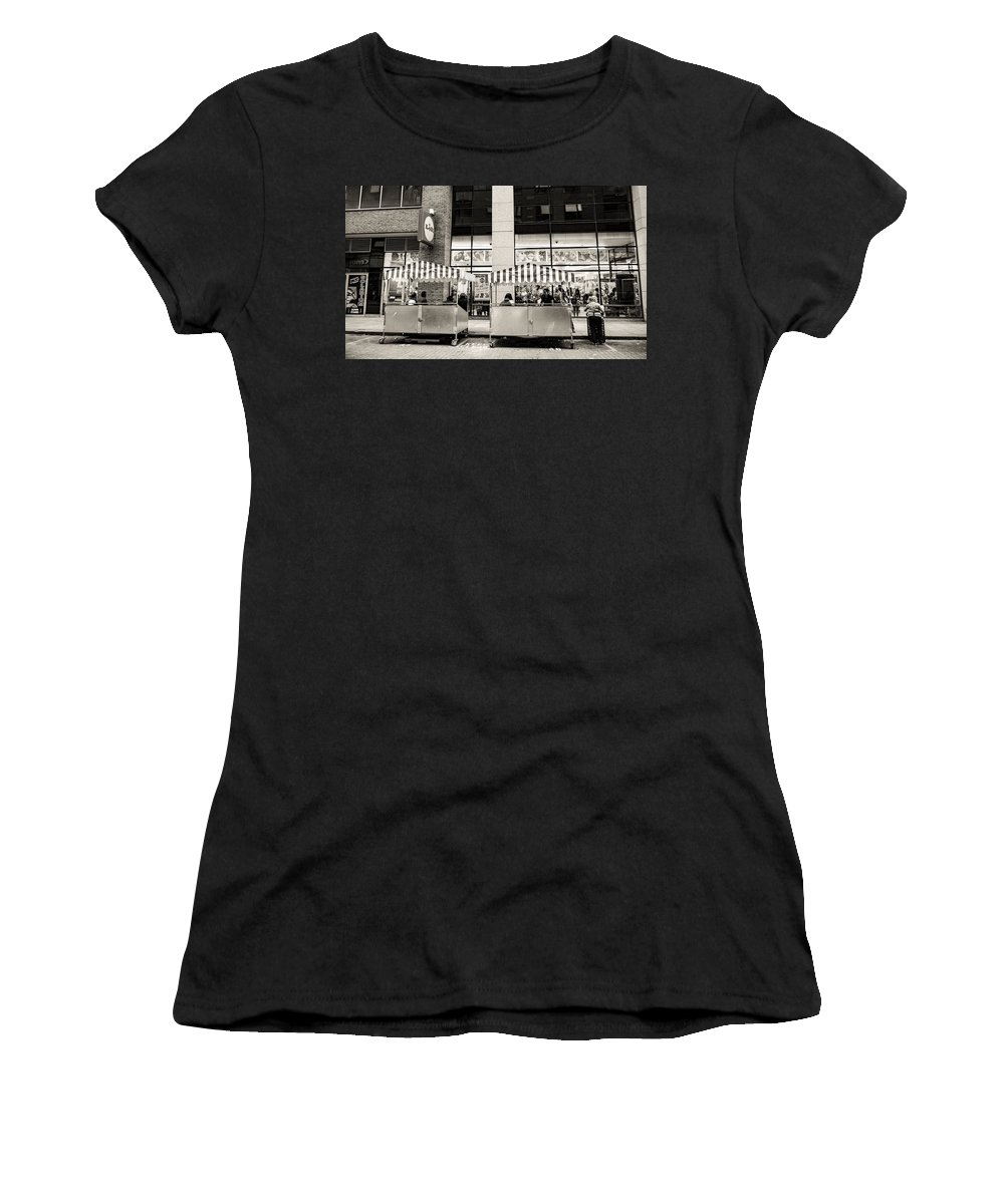 Water Women's T-Shirt (Athletic Fit) featuring the photograph Old Ireland New Ireland by James Fitzpatrick