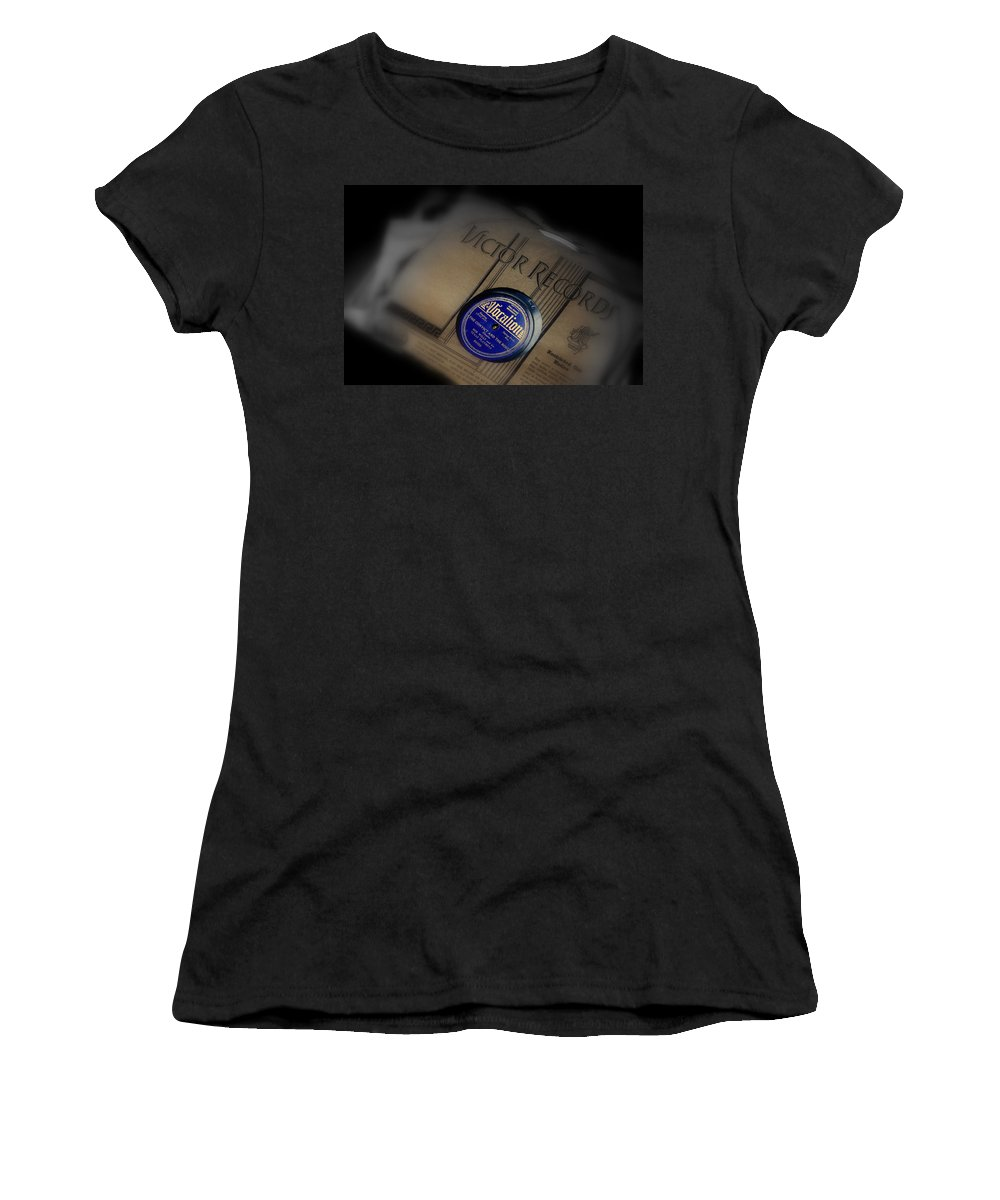 Photography Women's T-Shirt featuring the photograph Old Memories by Susanne Van Hulst