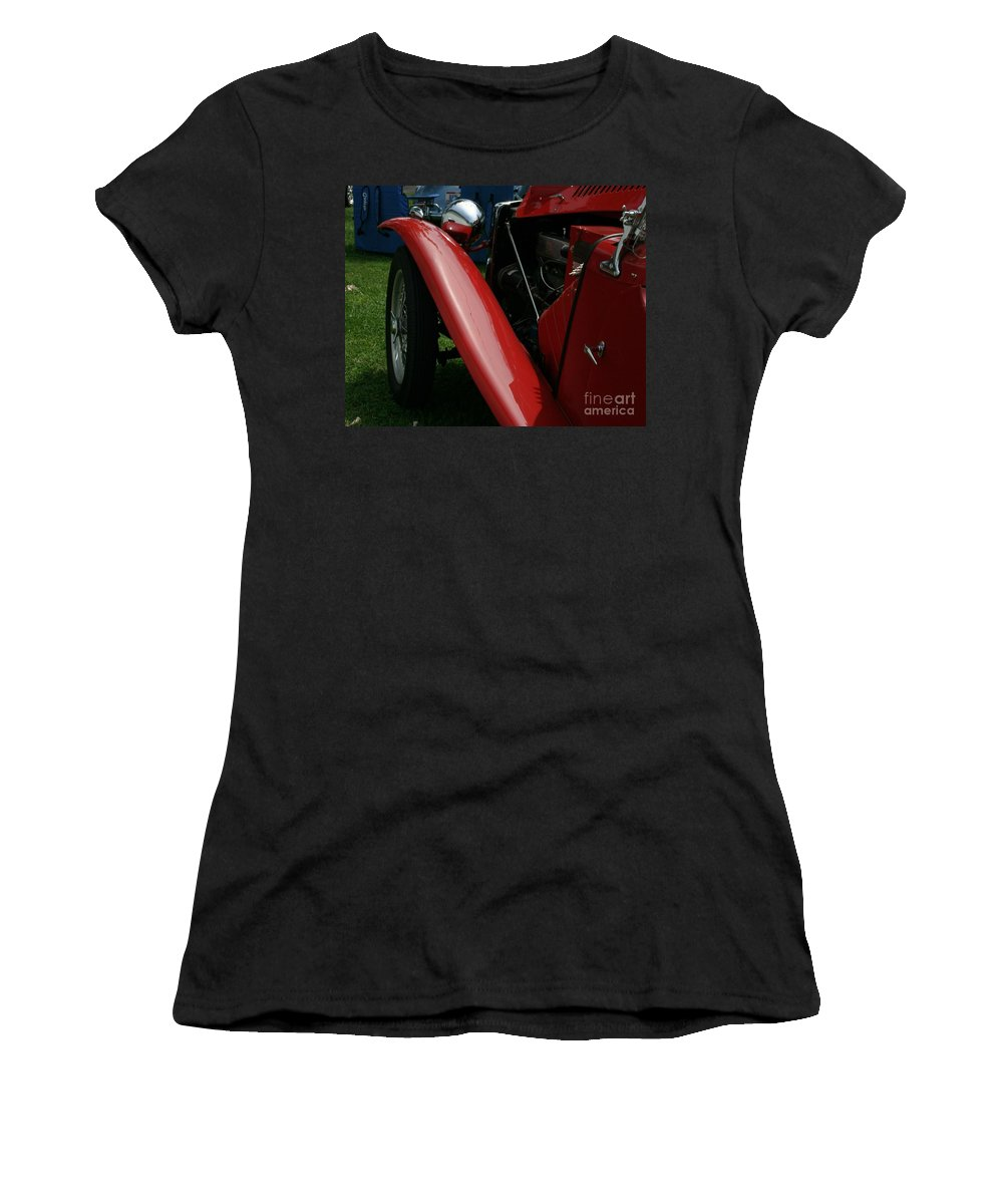 Mg Women's T-Shirt (Athletic Fit) featuring the photograph Old Mg by Dawn Downour