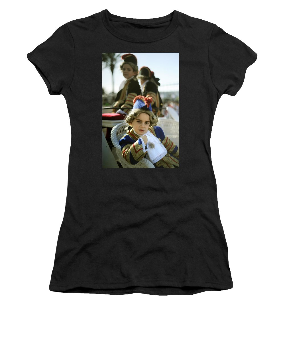 Spain Women's T-Shirt featuring the photograph On The Carriage by Rafa Rivas