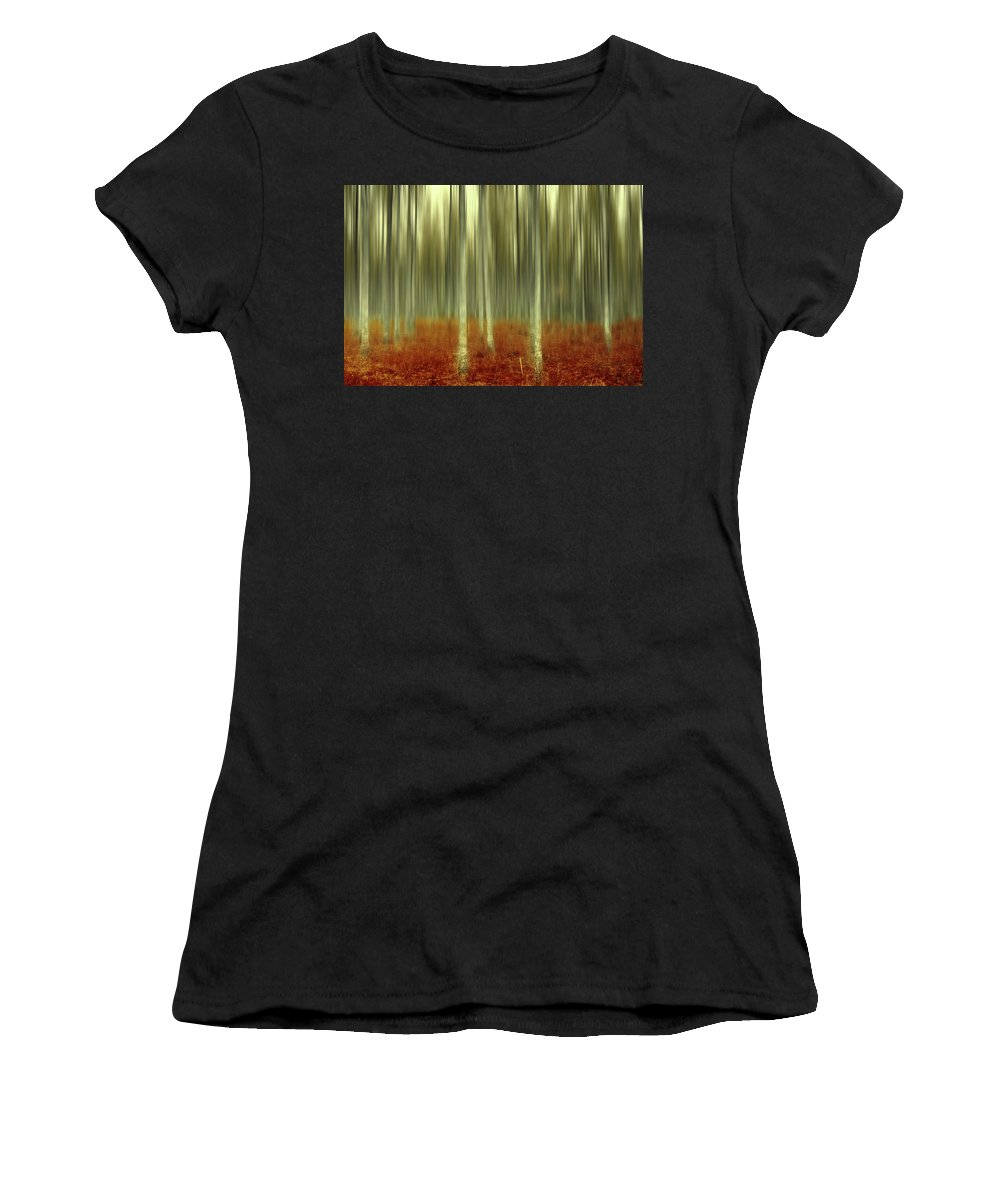 Autumn Women's T-Shirt (Athletic Fit) featuring the photograph One Day Like This by Angela King-Jones